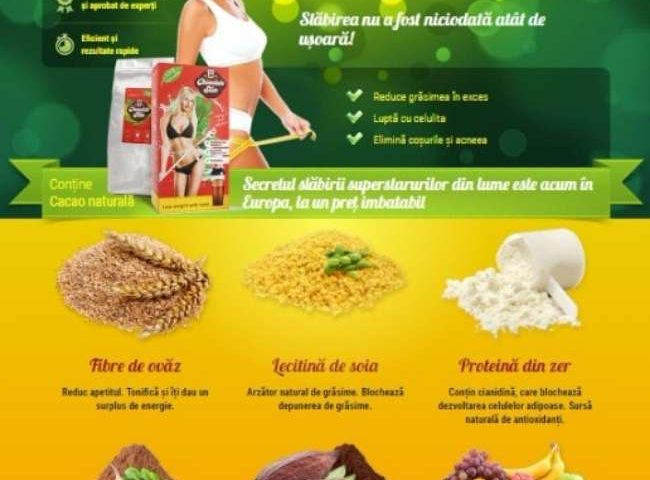 Chocolat Slim ingrediente